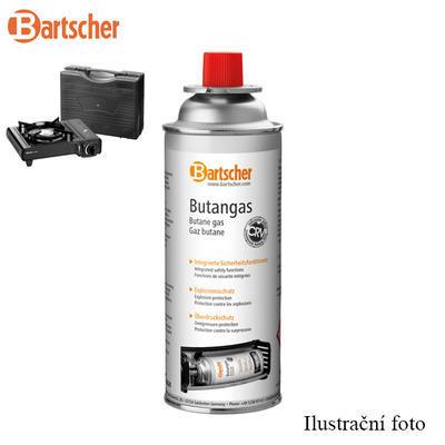 Plynová náplň kartuš pro přenosný vařič Bartscher, 67 x 67 x 185 mm - 227 g butanu - 0,23 kg