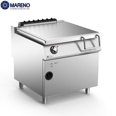 Plynová výklopná pánev 80 l Mareno 900, 800 x 900 x 870 mm - 20 kW