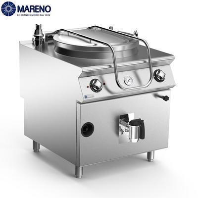 Plynový varný kotel 100 l Mareno 900, 800 x 900 x 870 mm - 21 kW
