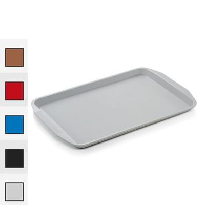 Podnos jídelní série 9205, světle šedá - 45 x 32 x 2 cm