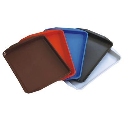 Podnos jídelní série 9205, červená - 45 x 32 x 2 cm