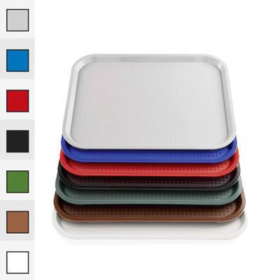 Podnos jídelní série 9220, šedá - 35,0 x 27,0 cm
