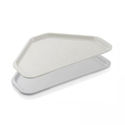 Podnos jídelní série 9625, světle šedá - 48 x 34 cm