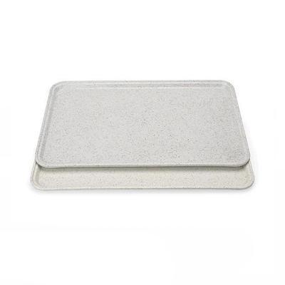 Podnos jídelní série 9710, 45,5 x 35,5 cm - malý šedý
