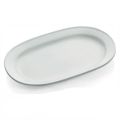Podnos oválný porcelánový, 36 x 21,0 cm