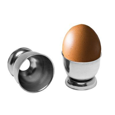 Pohárek na vejce nerezový, bez otvoru - 4 cm
