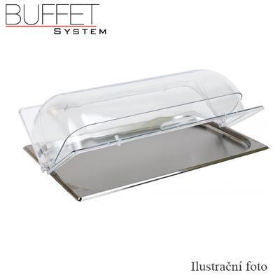 Poklop Rolltop bufetový PC, 53 x 32,5 x 9,5 cm