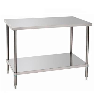 Pracovní stůl nerezový Bartscher, 1200 x 700 x 860-900 mm - 25,12 kg - 1