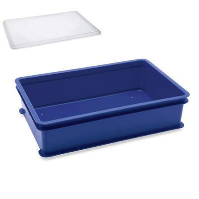 Přepravní a skladovací box modrý, 64,6 x 42 x 2 cm - víko k přepravce - 1
