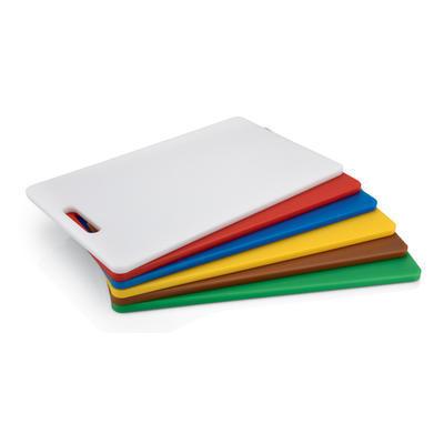 Prkno krájecí barevné HACCP, červená - 400 x 250 x 12 mm