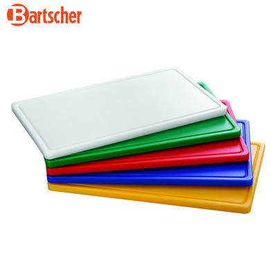 Prkno krájecí barevné PRO Bartscher, žluté - 530 x 325 x 24 mm - 3,2 kg - 1
