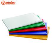 Prkno krájecí barevné PRO Bartscher, žluté - 530 x 325 x 24 mm - 3,2 kg - 1/6
