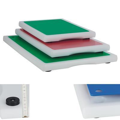 Prkno s 6 barevnými deskami Gourmet Board, 40 x 30 x 3 cm - 1