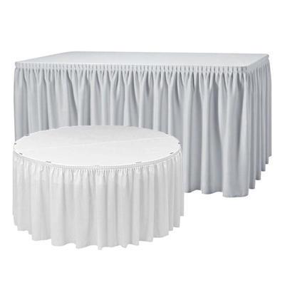 Rautová sukně plisovaná Excaliber, ecru - 410 x 73 cm - 1
