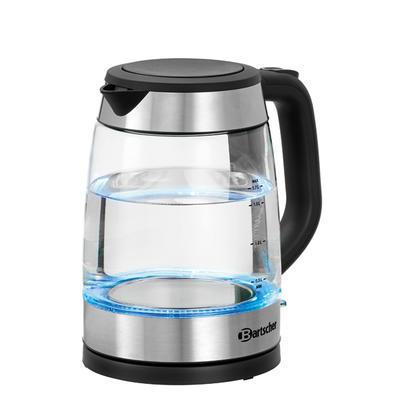 Rychlovarná konvice sklo 1,7 l Bartscher - 1