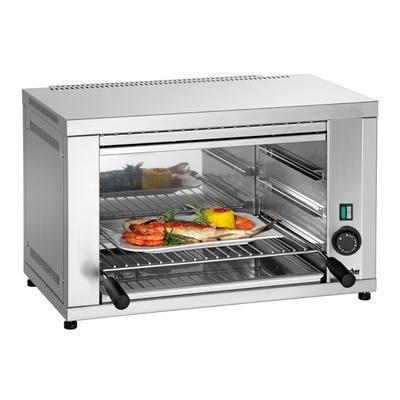 Salamandr Bartscher 400 1Z, 597 x 368 x 365 mm - 2,2 kW / 230 V - 13,8 kg