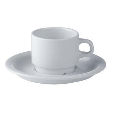 Šálek a podšálek kávový Oslo, podšálek Oslo - 16 cm - 1