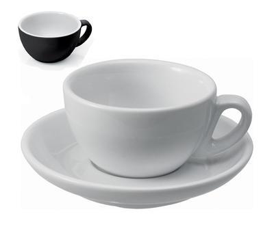 Šálek a podšálek na cappuccino Italia, šálek - 5,5 x 9,5 cm - 0,20 l - 1