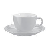 Šálek a podšálek na kávu Barista, podšálek káva - 15,0 cm - 1/3