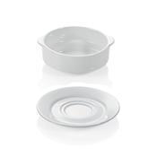 Šálek a podšálek na polévku s držadly, šálek polévkový - 0,26 l - 10 x 5,5 cm - 1/4