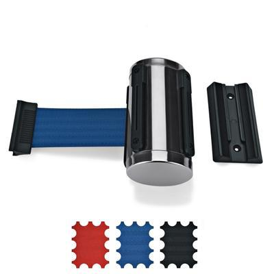 Samonavíjecí oddělovací pás nástěnný, modrá - 300 cm - 1