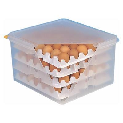 Skladovací a přepravní box na vejce 120 ks, náhradní plata na vejce - 10 ks v balení