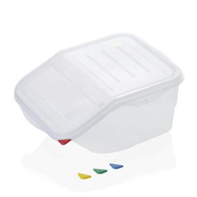 Skladovací box jednostranné víko, 7 l - 39 x 20 x 20 cm - jednostranné víko