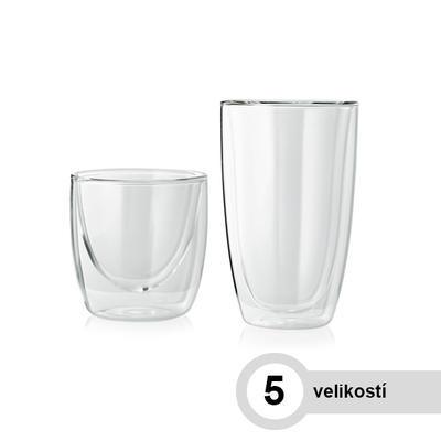 Sklenice na horké nápoje LOUNGE, latte macchiato - 310 ml - 8,3 / 4,8 / 12 cm - 1