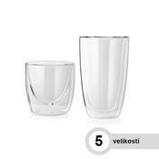Sklenice na horké nápoje LOUNGE, latte macchiato - 310 ml - 8,3 / 4,8 / 12 cm - 1/2