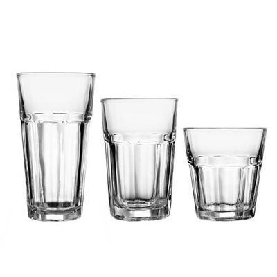 Sklenice na míchané nápoje Casablanca, long drink - 365 ml - 80 x 148 mm - 1