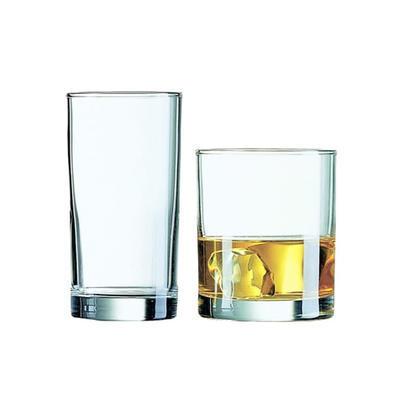 Sklenice na nápoje Liberty, 0,20 l cejch - 13,5 cm - 6,0 cm