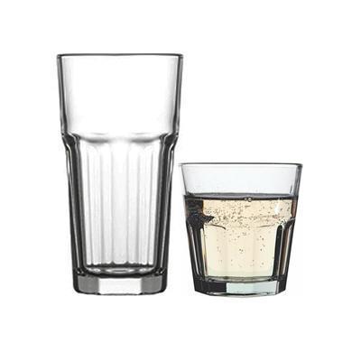 Sklenice nápojové tvrzené Aras, water - 200 ml - 7,8 x 8 cm