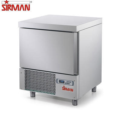 Šokový zchlazovač a zmrazovač Sirman Dolomiti 5 P 1/1, 680 x 680 x 880 mm - 1116 W - 95 kg - 1