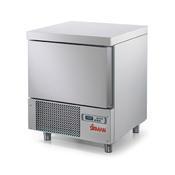 Šokový zchlazovač a zmrazovač Sirman Dolomiti 5 P 1/1, 680 x 680 x 880 mm - 1116 W - 95 kg - 1/2