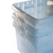 Stohovatelný přepravní box 32 litrů, box 32 l - 40 x 40 x 31,5 cm - 1/7