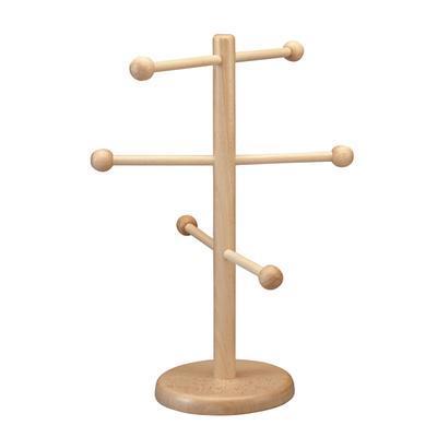 Stojan na preclíky dřevěný, 21 cm - 50 cm