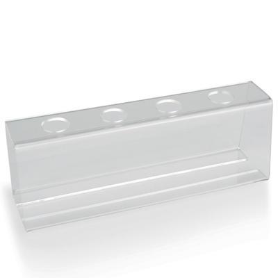 Stojan na zmrzlinové kornouty plast, 25 x 9 x 7,5 cm