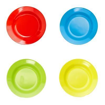 Talíř hluboký melamin barevný, modrá - 20 cm - 1