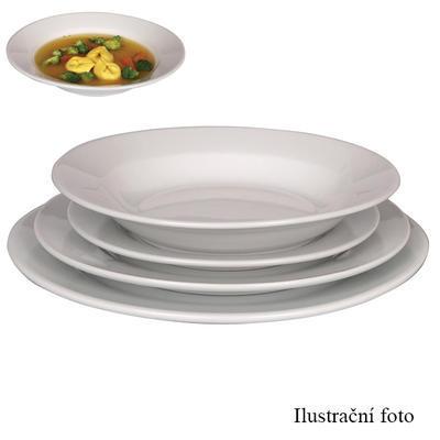 Talíř hluboký porcelánový Tonda, talíř hluboký - 22 cm - 1