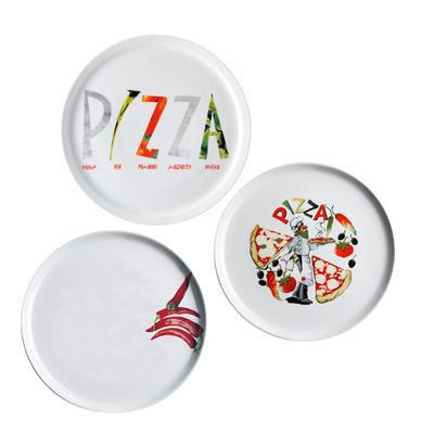 Talíř na pizzu s motivem, 30 cm - kuchař - 1