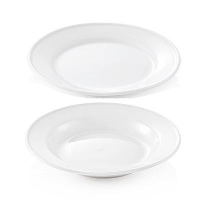 Talíř porcelánový KLASIK, talíř hluboký - 23 cm