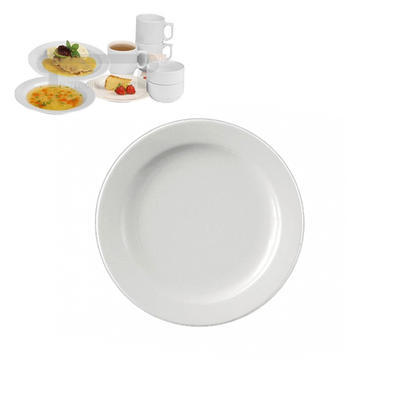 Talíře porcelánové Praha, talíř mělký - 24 cm