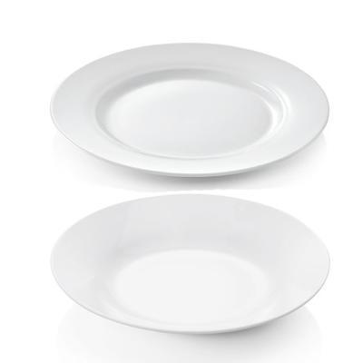 Talíře porcelánové STANDARD, talíř mělký - 23 cm