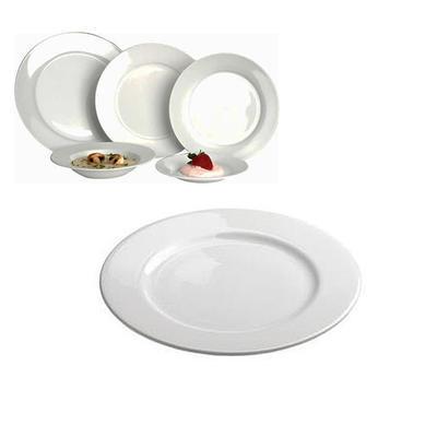 Talíře porcelánové Young, talíř mělký - 24,0 cm