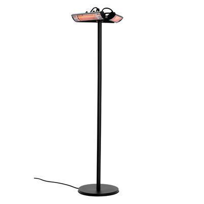 Terasový ohřívač se 3 výklopnými zářiči Bartscher, 600 x 600 x 2120 mm - 3 x 1 kW - 19,7 kg - 1