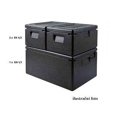 Termobox Euronorma EN 1/2, 340 x 240 x 310 mm - 400 x 300 x 360 mm - 25 l