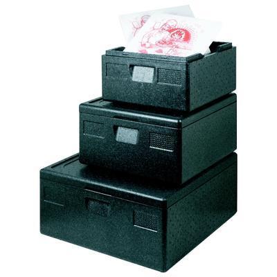 Termobox na přepravu pizzy, 60,5 x 60,5 x 25 cm - 66,5 x 66,5 x 31 cm - 92 l