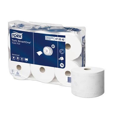 Toaletní papír pro Tork SmartOne, 207 m x 13,4 cm - 1 balení/6 ks
