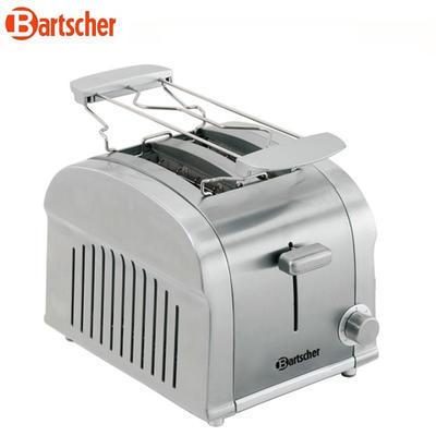 Toaster na 2 tousty Bartscher Silverline, 2 ks - 900 W - 1,85 kg - 1