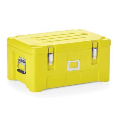 Transportní termobox GN 1/1 žlutý, GN 1/1 - 63 x 43 x 31 cm - 51,5 x 30,5 x 23 cm - 1